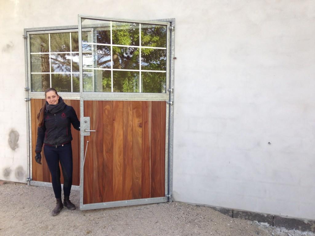 Cathrine Dufour har døren fuld åben for nye aktiviteter