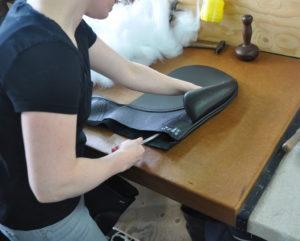 Akkuratesse i alle led i processen for at skabe den perfekte sadel og i den høje kvalitet, som kendetegner PASSIER